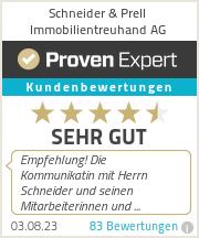 Erfahrungen & Bewertungen zu Schneider & Prell Immobilientreuhand AG