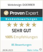 Erfahrungen & Bewertungen zu Webdesign DOERRER