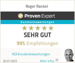 Erfahrungen & Bewertungen zu Roger Rankel