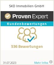 Erfahrungen & Bewertungen zu SKD Immobilien GmbH