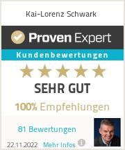 Erfahrungen & Bewertungen zu Kai-Lorenz Schwark