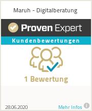 Erfahrungen & Bewertungen zu Maruh - Digitalberatung