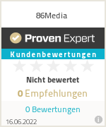 Erfahrungen & Bewertungen zu 86Media