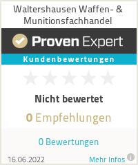Erfahrungen & Bewertungen zu Waltershausen Waffen- & Munitionsfachhandel
