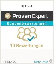 Erfahrungen & Bewertungen zu DJ ERIK