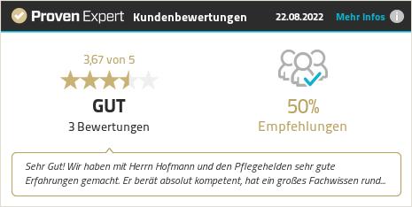 Kundenbewertungen & Erfahrungen zu Pflegehelden® Neckaralb. Mehr Infos anzeigen.