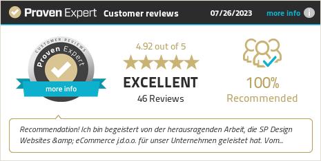 Erfahrungen & Bewertungen zu SP-Design: Websites & eCommerce anzeigen