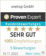 Erfahrungen & Bewertungen zu OnTop SEO Internetagentur