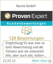 Erfahrungen & Bewertungen zu Nunio GmbH