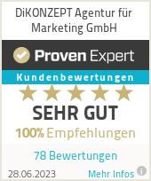 Erfahrungen & Bewertungen zu DiKONZEPT e.K.