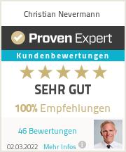 Erfahrungen & Bewertungen zu Christian Nevermann