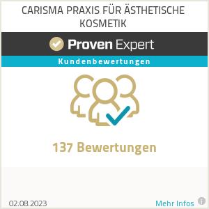 Erfahrungen & Bewertungen zu CARISMA PRAXIS FÜR ÄSTHETISCHE KOSMETIK