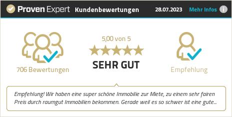 Kundenbewertungen & Erfahrungen zu raumgut Immobilien GmbH. Mehr Infos anzeigen.