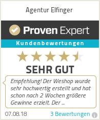Erfahrungen & Bewertungen zu Agentur Elfinger