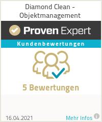 Erfahrungen & Bewertungen zu Diamond Clean - Objektmanagement