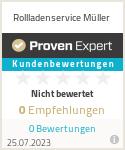 Erfahrungen & Bewertungen zu Rollladenservice Müller