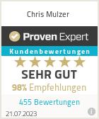Erfahrungen & Bewertungen zu Chris Mulzer