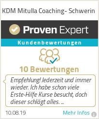 Erfahrungen & Bewertungen zu KDM Mitulla Coaching- Schwerin