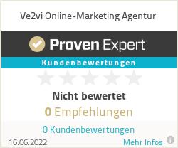 Erfahrungen & Bewertungen zu Ve2vi Online-Marketing Agentur