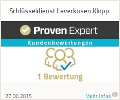 Erfahrungen & Bewertungen zu Schlüsseldienst Leverkusen Klopp