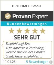 Erfahrungen & Bewertungen zu ORTHOMED GmbH