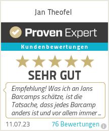Erfahrungen & Bewertungen zu Jan Theofel
