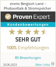 Erfahrungen & Bewertungen zu ?enerix Bergisch Land - Photovoltaik & Stromspeicher