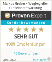 Erfahrungen & Bewertungen zu Markus Gruber - Wegbegleiter für Selbstentwicklung