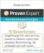 Erfahrungen & Bewertungen zu Sonja Gumze