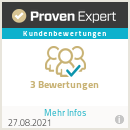 5 Sterne bei Proven Expert