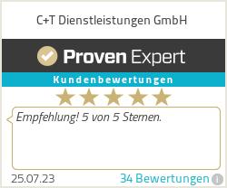 Erfahrungen & Bewertungen zu C+T Dienstleistungen GmbH