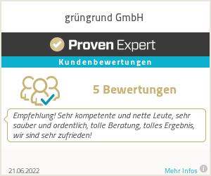 Erfahrungen & Bewertungen zu grüngrund GmbH