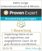 Erfahrungen & Bewertungen zu Katrin Junge Coach │ Trainer │ Virtuelle Top Assistenz für Unternehmer & Selbständige │