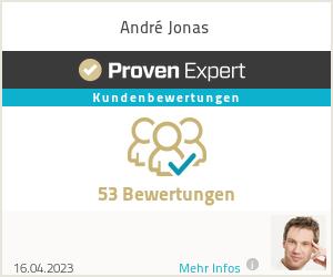 Erfahrungen & Bewertungen zu André Jonas