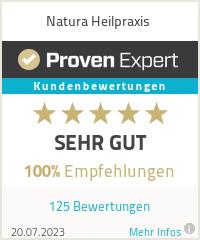 Erfahrungen & Bewertungen zu Natura Heilpraxis
