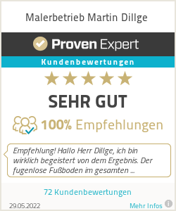 Erfahrungen & Bewertungen zu Malerbetrieb Martin Dillge