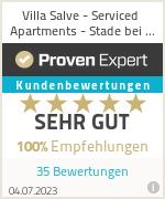 Erfahrungen & Bewertungen zu Villa Salve - Serviced Apartments - Stade bei Hamburg