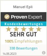 Erfahrungen & Bewertungen zu Manuel Epli
