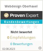 Erfahrungen & Bewertungen zu Webdesign Oberhavel