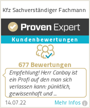 Erfahrungen & Bewertungen zu Kfz Sachverständiger Fachmann