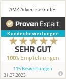 Erfahrungen & Bewertungen zu AMZ Advertise GmbH