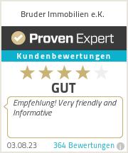 Erfahrungen & Bewertungen zu Bruder Immobilien e.K.