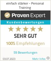 Erfahrungen & Bewertungen zu einfach stärker - Personal Training