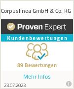 Erfahrungen & Bewertungen zu Corpuslinea GmbH & Co. KG