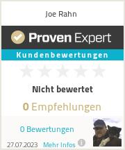Erfahrungen & Bewertungen zu Joe Rahn