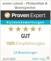 Erfahrungen & Bewertungen zu enerix Lübeck - Photovoltaik & Stromspeicher