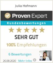 Erfahrungen & Bewertungen zu Julia Hofmann