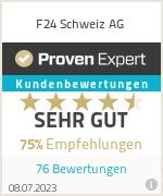 Erfahrungen & Bewertungen zu F24 Schweiz AG