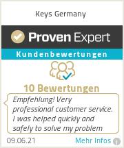 Erfahrungen & Bewertungen zu Keys Germany
