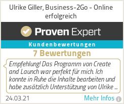 Erfahrungen & Bewertungen zu Ulrike Giller, Business-2Go - Online erfolgreich
